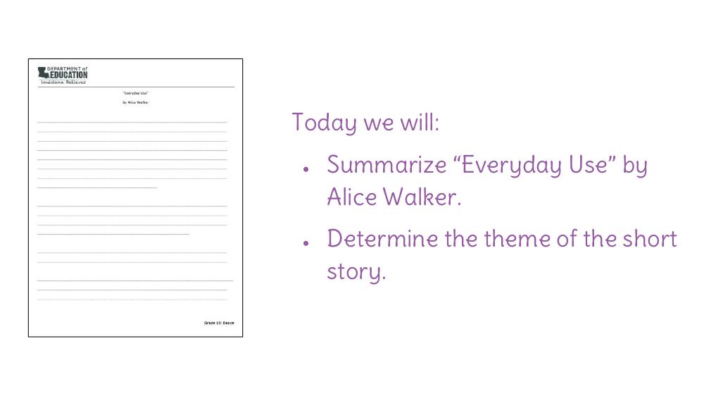 everyday use alice walker essay everyday use essay questions gradesaver